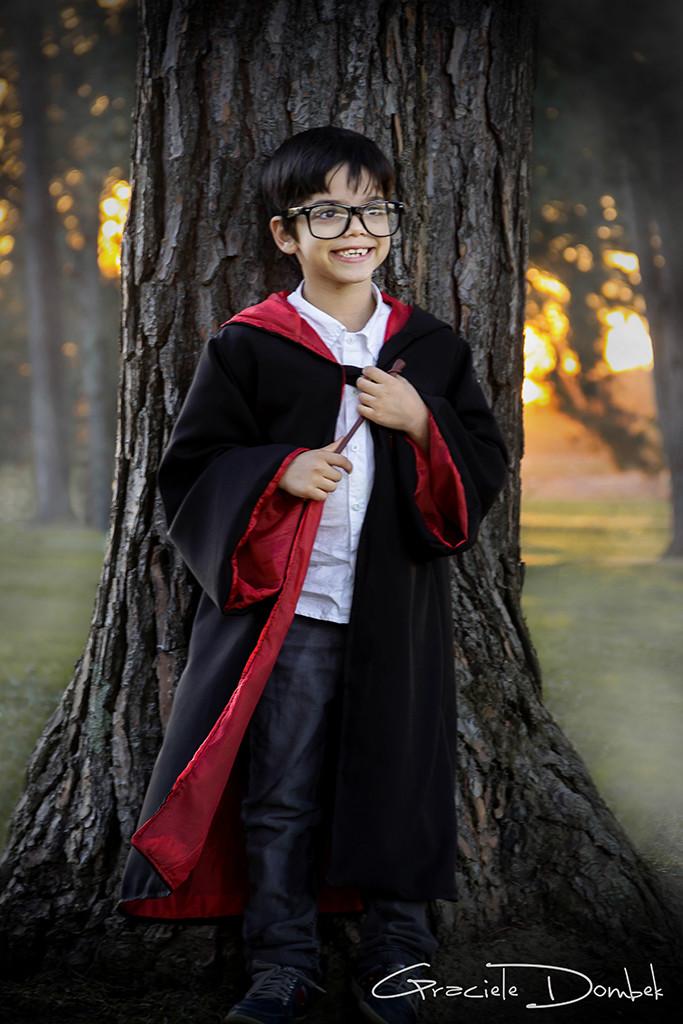 Ensaio Infantil Temático Harry Potter São José dos Pinhais-PR Kauan 002