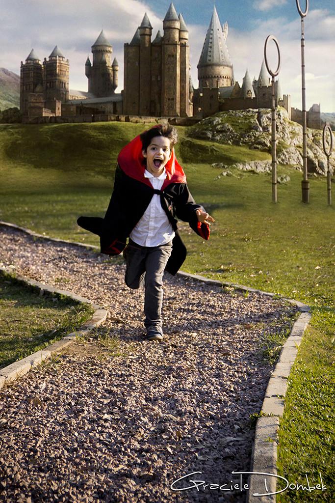 Ensaio Infantil Temático Harry Potter São José dos Pinhais-PR Kauan 004