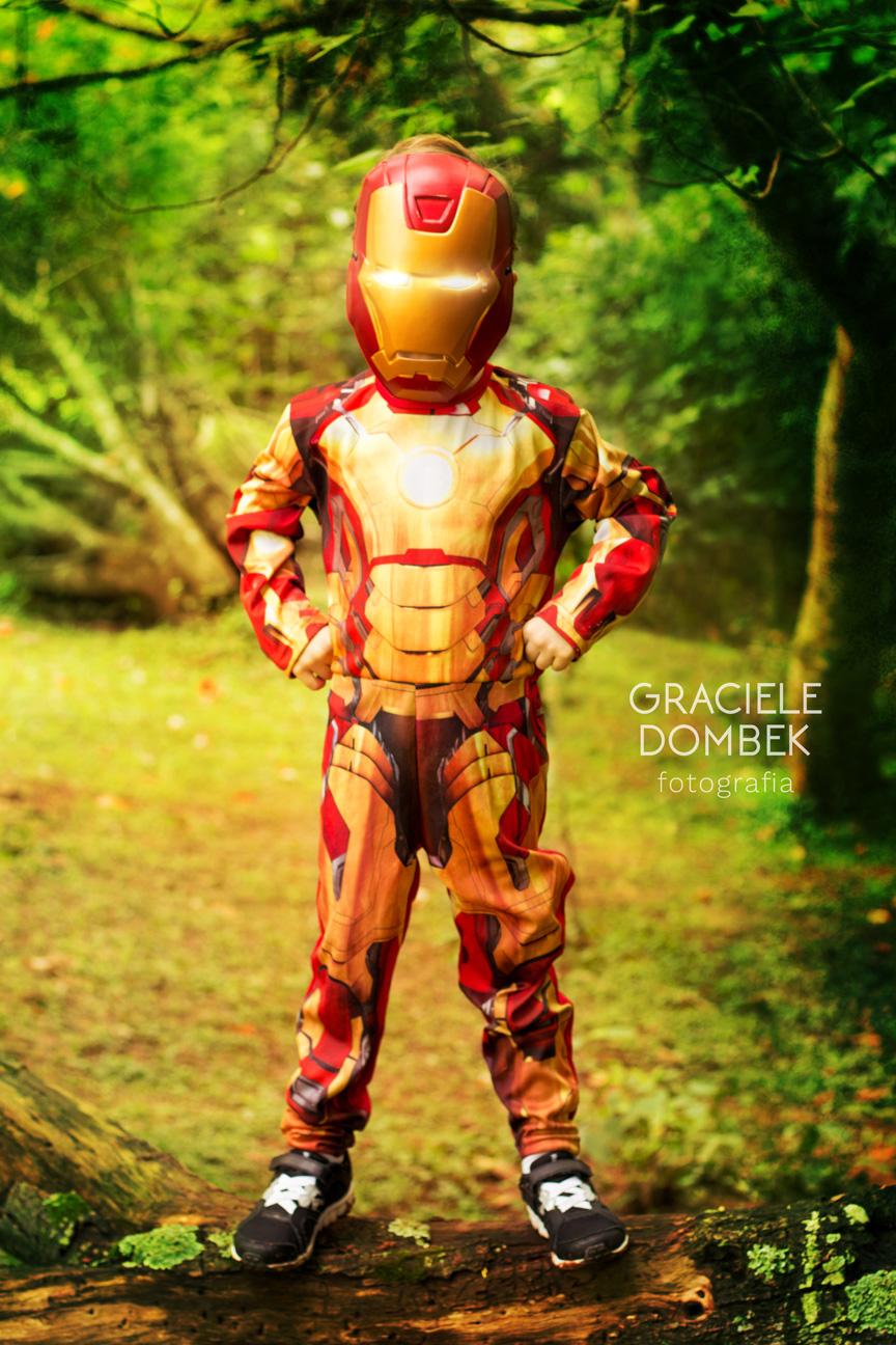 Ensaio Fotográfico Infantil Super Heróis 001