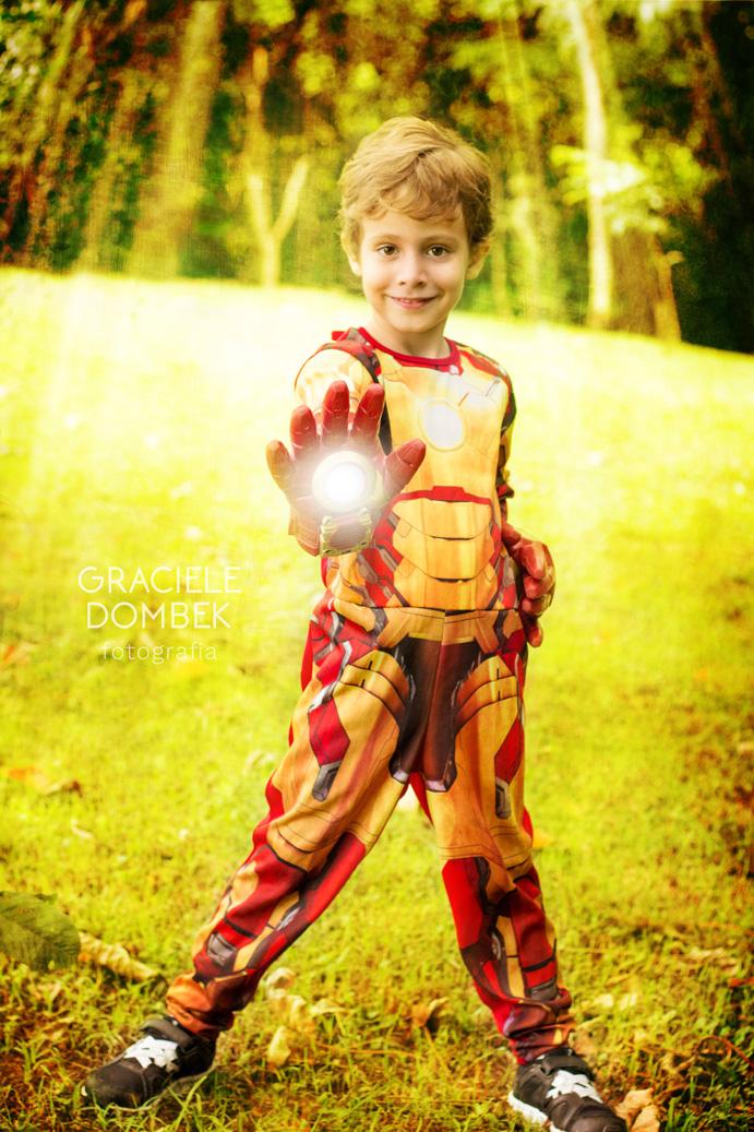 Ensaio Fotográfico Infantil Super Heróis 002
