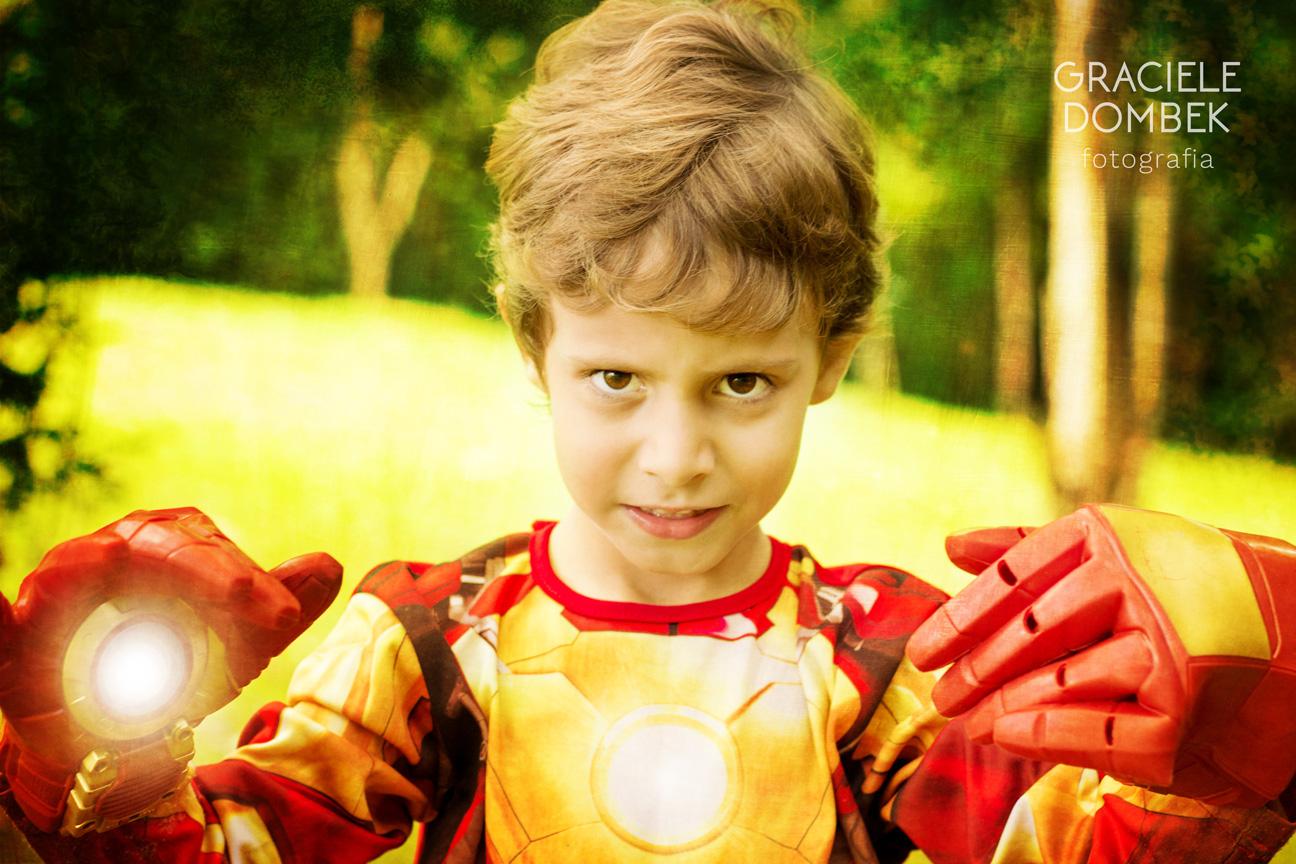 Ensaio Fotográfico Infantil Super Heróis 003