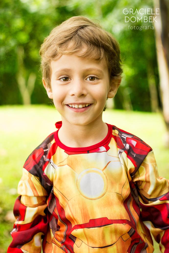 Ensaio Fotográfico Infantil Super Heróis 004