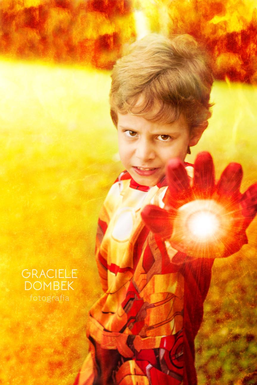 Ensaio Fotográfico Infantil Super Heróis 005