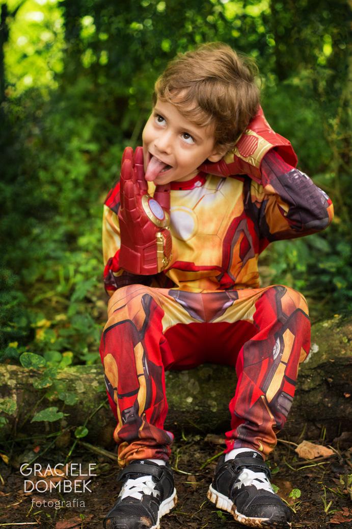 Ensaio Fotográfico Infantil Super Heróis 006