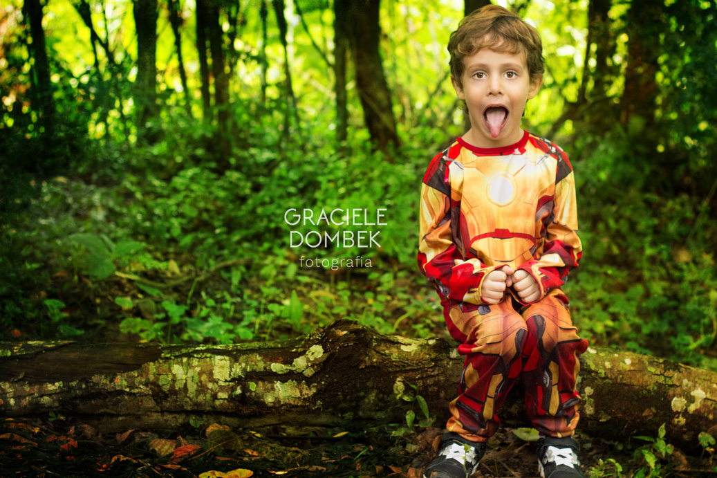 Ensaio Fotográfico Infantil Super Heróis 007