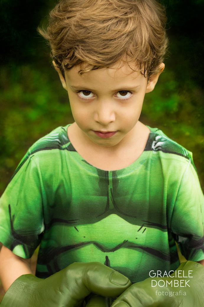 Ensaio Fotográfico Infantil Super Heróis 009