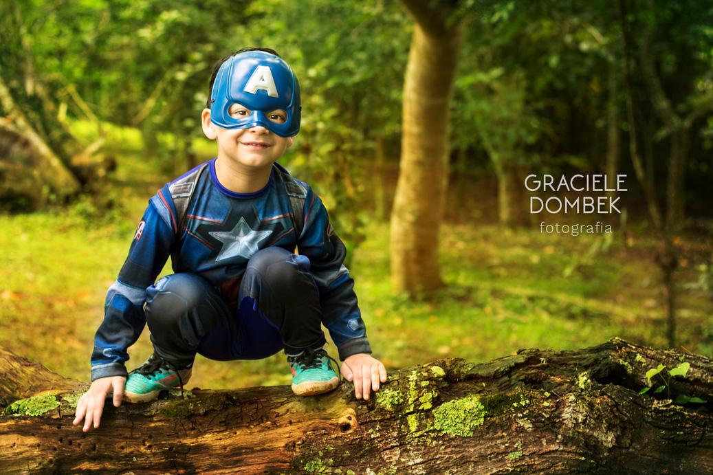 Ensaio Fotográfico Infantil Super Heróis 010