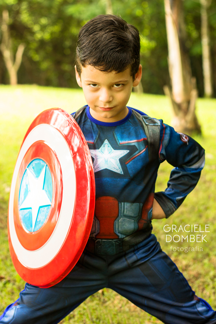 Ensaio Fotográfico Infantil Super Heróis 012
