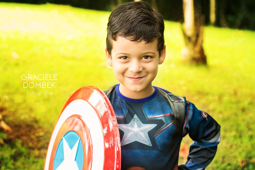 Ensaio Fotográfico Infantil Super Heróis 013