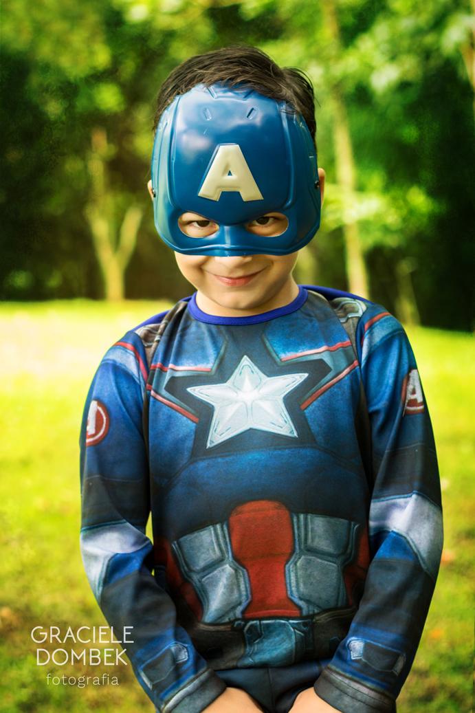 Ensaio Fotográfico Infantil Super Heróis 014