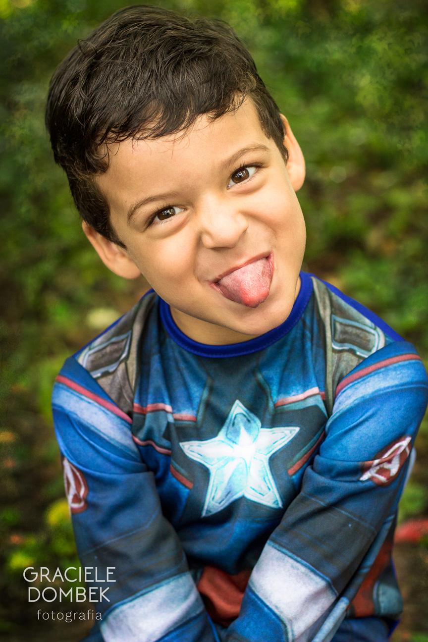 Ensaio Fotográfico Infantil Super Heróis 017
