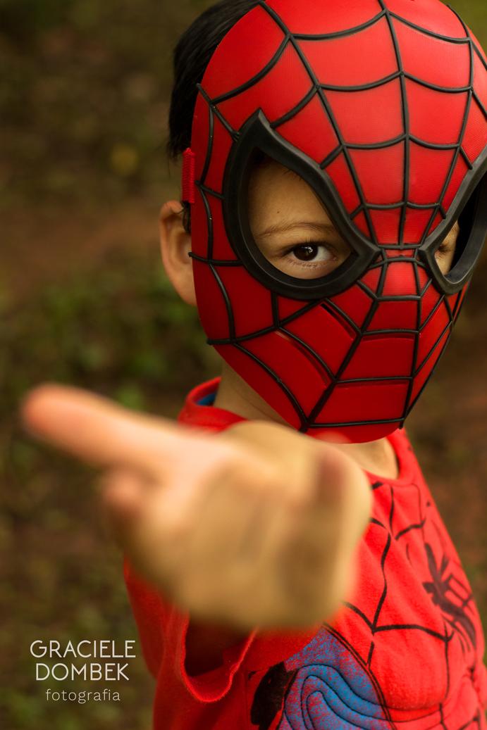 Ensaio Fotográfico Infantil Super Heróis 018