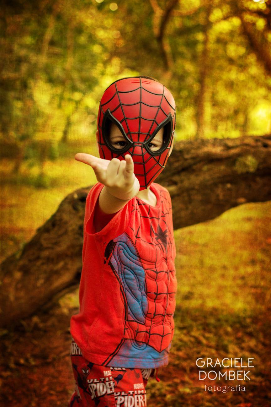 Ensaio Fotográfico Infantil Super Heróis 019