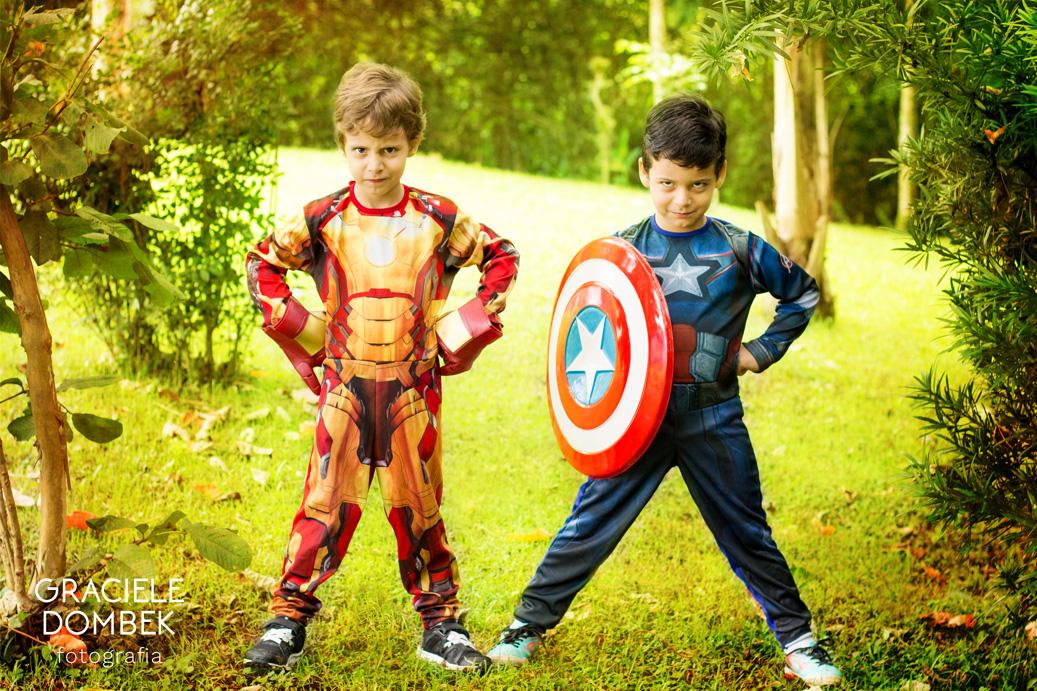 Ensaio Fotográfico Infantil Super Heróis 020