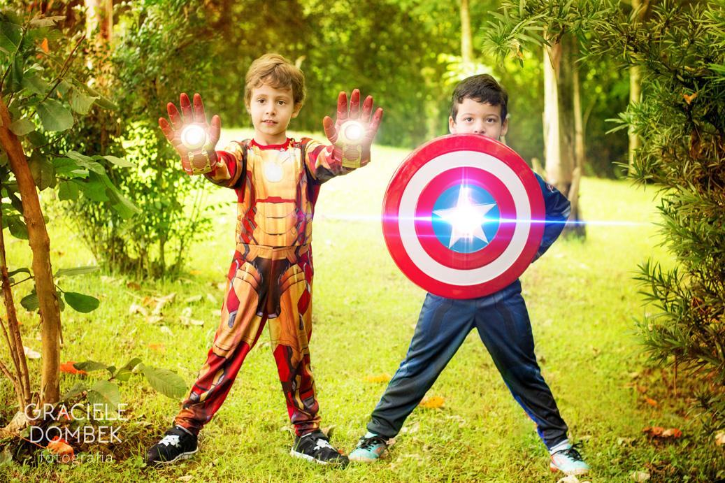 Ensaio Fotográfico Infantil Super Heróis 021