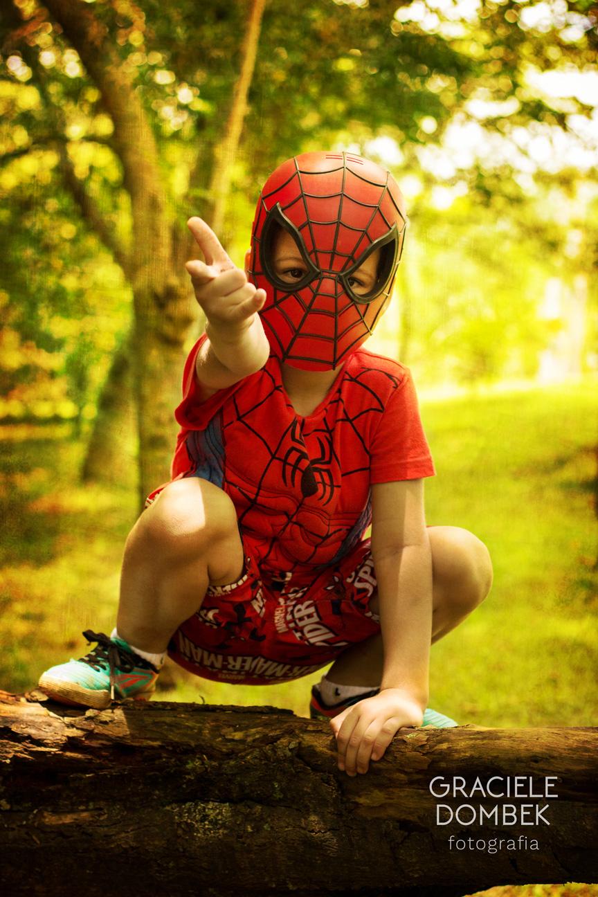 Ensaio Fotográfico Infantil Super Heróis 022